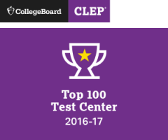 CollegeBoard CLEP recognition Top 100 Test Center 2016-2017